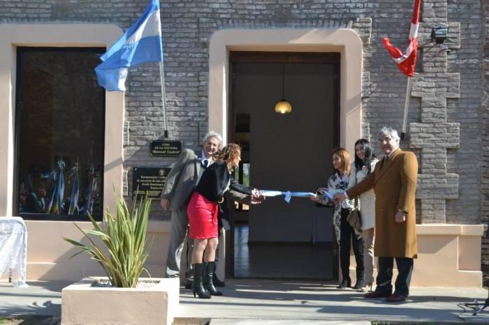Inauguración de la Casa de la Cultura