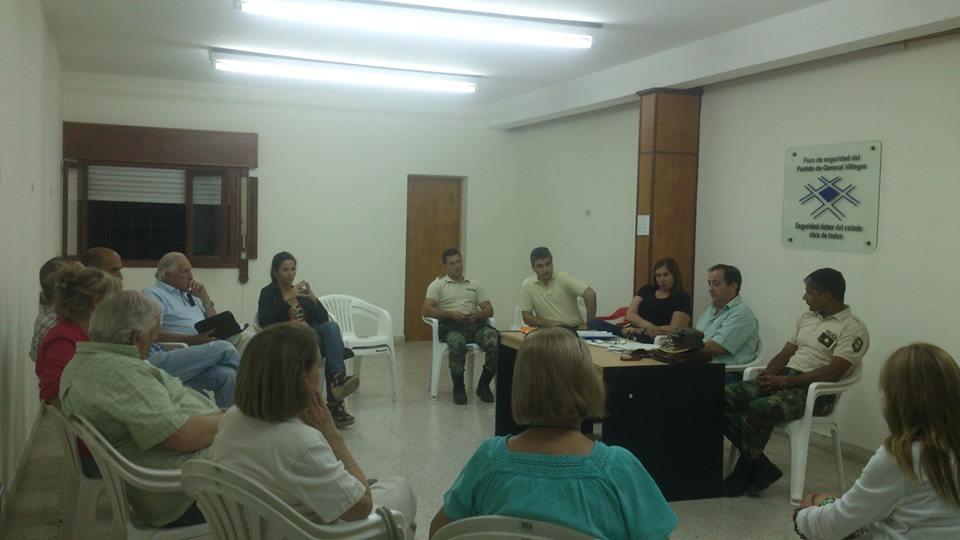 Reunión mensual del Foro Municipal