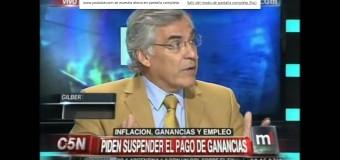 El diputado Gilberto Alegre en C5N