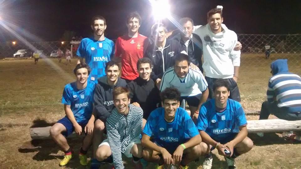 LOS SIN PELUCAS (Saboya), 3ros. en el Campeonato