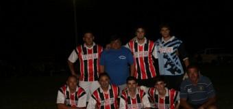 Campeonato de fútbol en Villa Saboya