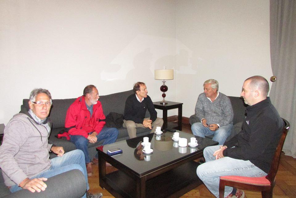 Funcionarios de Hidráulica analizan la situación en General Villegas