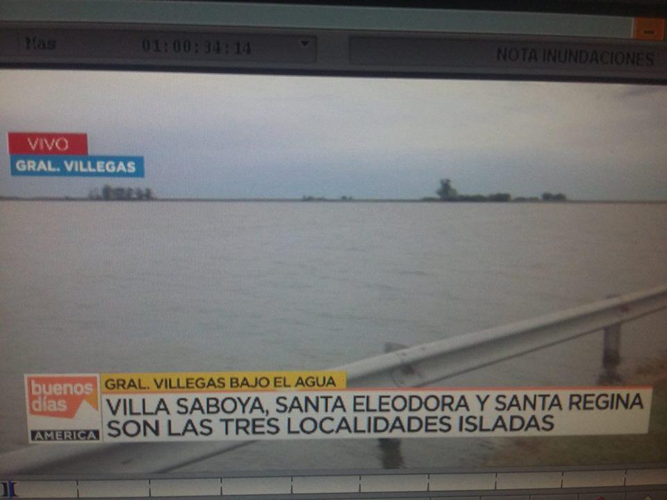 Villa Saboya en los medios nacionales