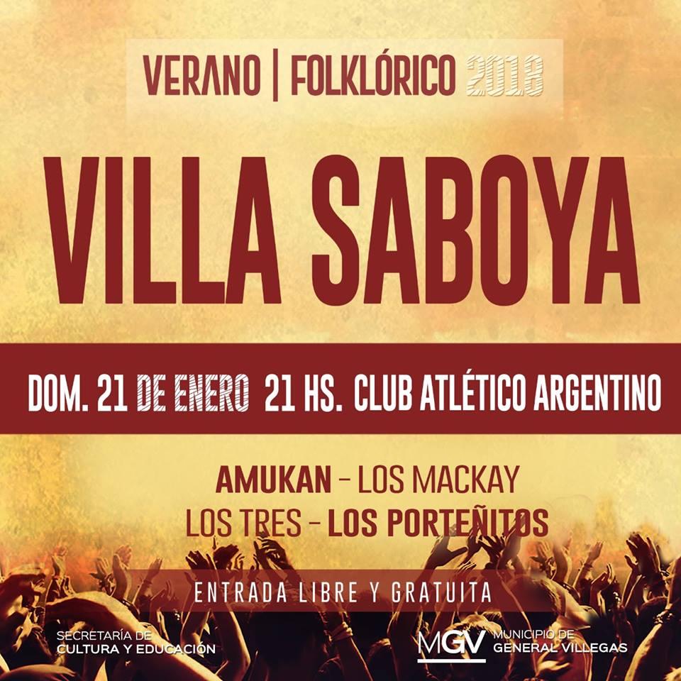 Verano Folklórico en Villa Saboya